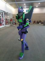 Neon Genesis Evangelion Unit 01 Cosplay by abnoormal