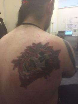 Got my tattoo finished  by ricks1556