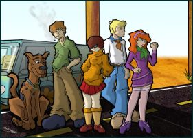 The Scooby Gang by wolfgangh