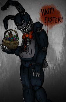 Happy Easter from the Easter Bonnie! by Andiiiematronic