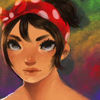 Speed paint practice by Ame-nii