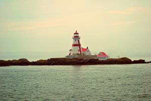East Quoddy Lighthouse by Golden-star-fall