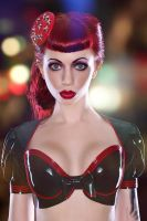 Ooh La Latex by Modelfaye