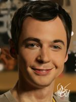 Sheldon Cooper by SnobVOT
