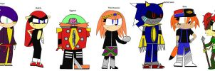 Sonic Reboot character designs page 2 by perrythehedgehog