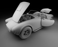 1963 Shelby Cobra 289 W.I.P. by Vikingheretic
