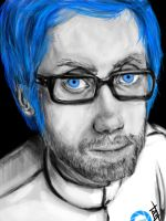Stephen Merchant as Wheatley by Sukautto