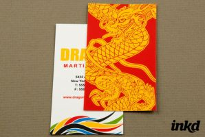 Martial Arts Academy by inkddesign