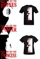 LOZ Rupees Power Princess T Shirt by Enlightenup23