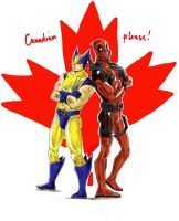 Canadian please by LadyDeadPooly