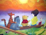 Winnie the pooh wall art 2 by ginas-cakes