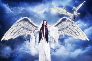 Angel and the Dragon by annemaria48