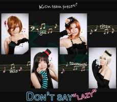 K-On cosplay - Dont say lazy by nyaomeimei