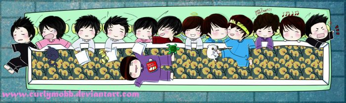 super junior-sleeping time by curlymobb