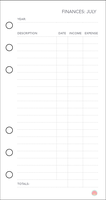 Free Planner Printable: Financial (Jul) by apparate