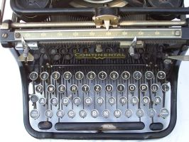 Antique Typewriter Stock4 by ValerianaSTOCK