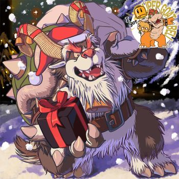 Yule Bowser has come ! by MasaBowser