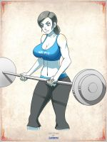 Wii Fit by elee0228