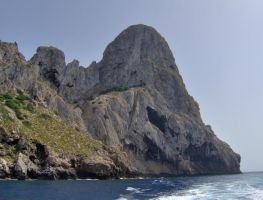 Sea Mountain, Ibiza by wilkinlp01