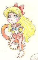 Sailor Venus Chibi by PigletPrincess