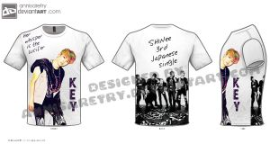 Key Lucifer Jap on T-shirt by annisaretry