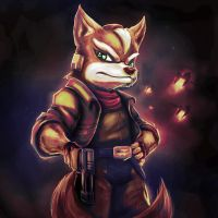 Star Fox Tribute - The Leader by PerfectDork