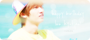 Happy Birthday Eunhyuk by dweechullie
