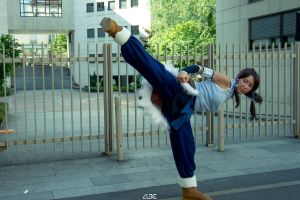 Korra Kick by Red-Hag