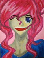 Pinkie Pie on canvas by Tao-mell