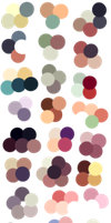 Random Color Palettes 6 by Sebbins