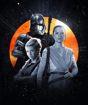 Women of Star Wars by carts