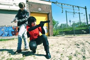 Re6: Ada Wong:''I've got you coverd'' by 14vegeta