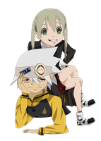 AT: Maka and Soul by KingDarkSoul