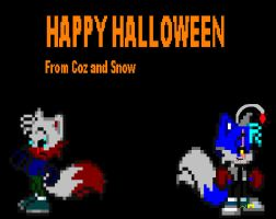 Happy Halloween by CozandTails