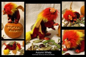 Autumn Barbary Whelp by WormsandBones