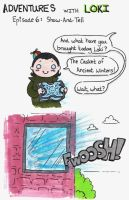Adventures with Loki 6 by LilClownie