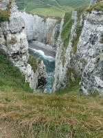 Etretat 1 - Into the Abyss by SheriArts