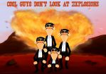 Cool Guys Don't Look At Explosions by Mirinata