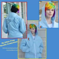 Rainbow Dash My Little Pony FIM Hoodie by Monostache