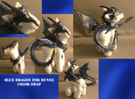 Real Custom: Blue Dragon by RevRuby