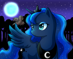 Luna and the Nightingale by F0xybat