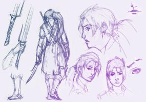 character design doodles by cyh