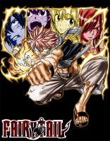 FAIRY TAIL SHIRT by RuwaLL