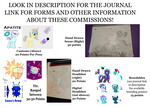 Commission Ref. Sheet 5 slots open! by PonyOfTardis