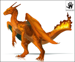 Charizard by DemonML