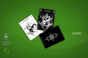 Tribal Card Deck: The Jokers by MPtribe