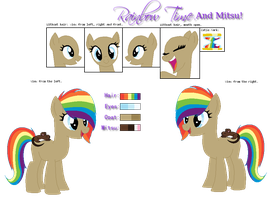 Rainbow Time and Mitsu REF by SNlCKERS
