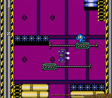 A Screenshot of the JetMan Stage by MegaPhilX