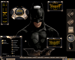 Ultimate Batman Desktop by a666a