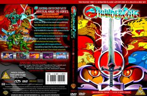 Thundercats dvd cover one by cutnpaste-since2011